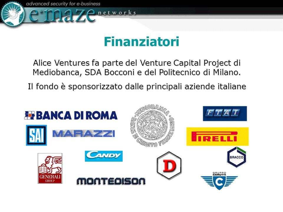Alice Ventures fa parte del Venture Capital Project di Mediobanca, SDA Bocconi e del Politecnico di Milano.