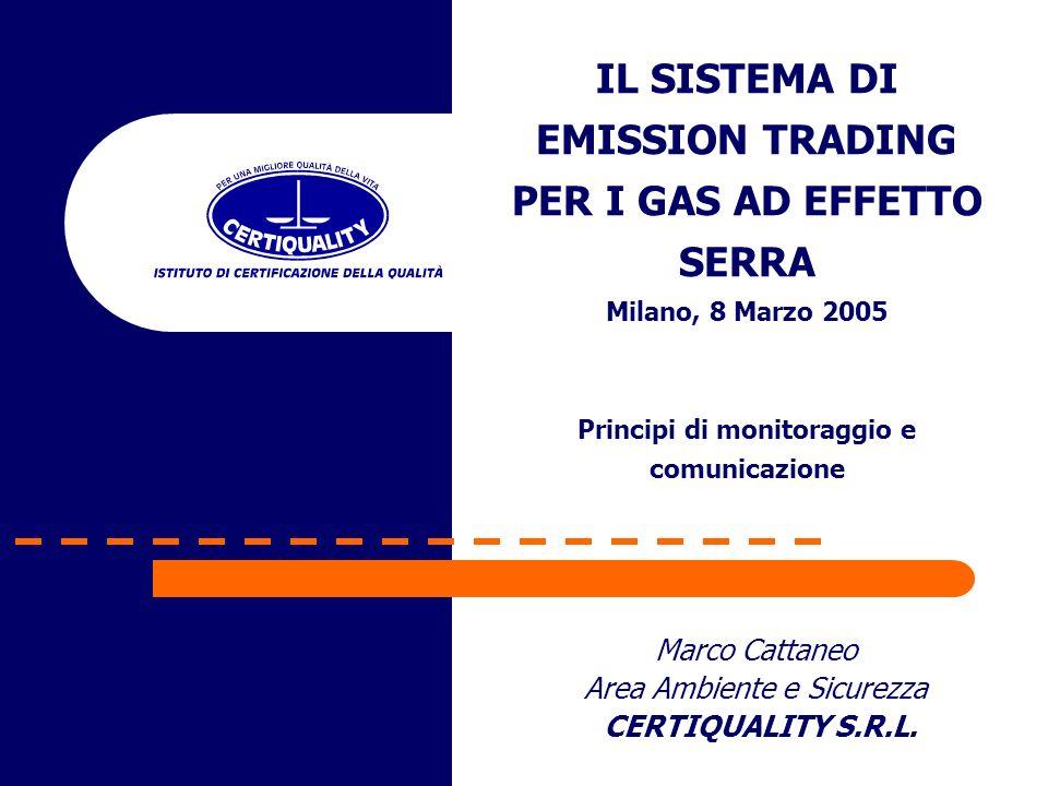 Marco Cattaneo Area Ambiente e Sicurezza CERTIQUALITY S.R.L.