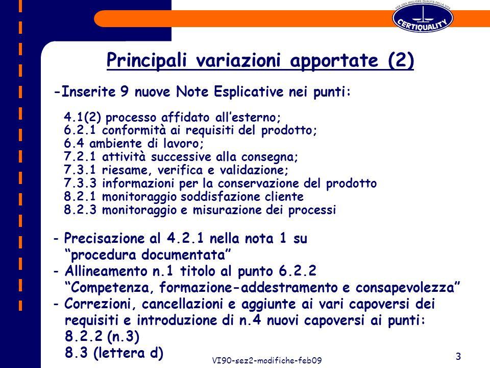 4 VI90-sez2-modifiche-feb09 4 P.toModif.