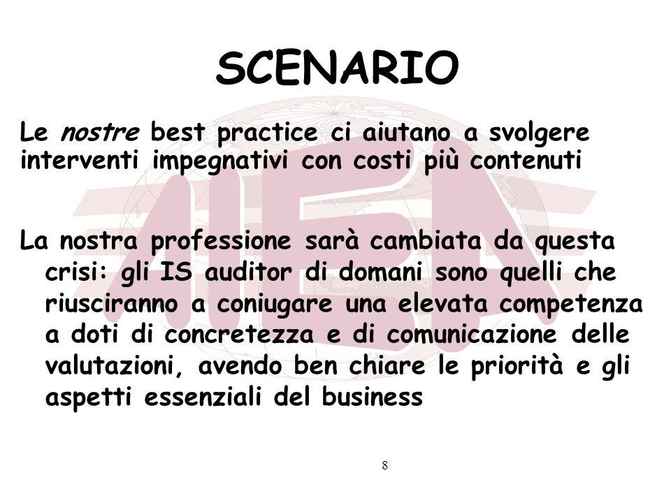 9 STRATEGIE 1.Soddisfare le aspettative professionali degli associati 2.