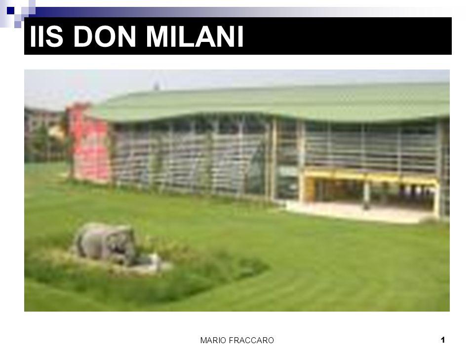 MARIO FRACCARO1 IIS DON MILANI