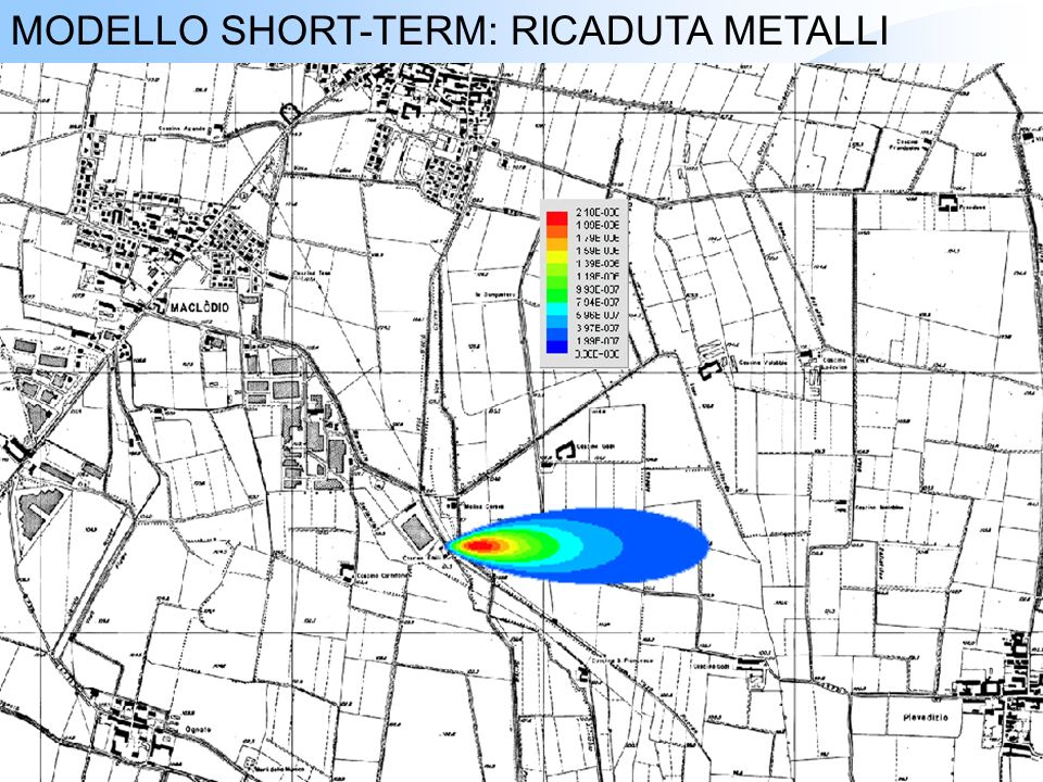 MODELLO SHORT-TERM: RICADUTA METALLI
