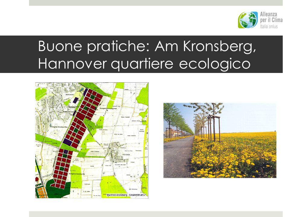 Buone pratiche: Am Kronsberg, Hannover quartiere ecologico