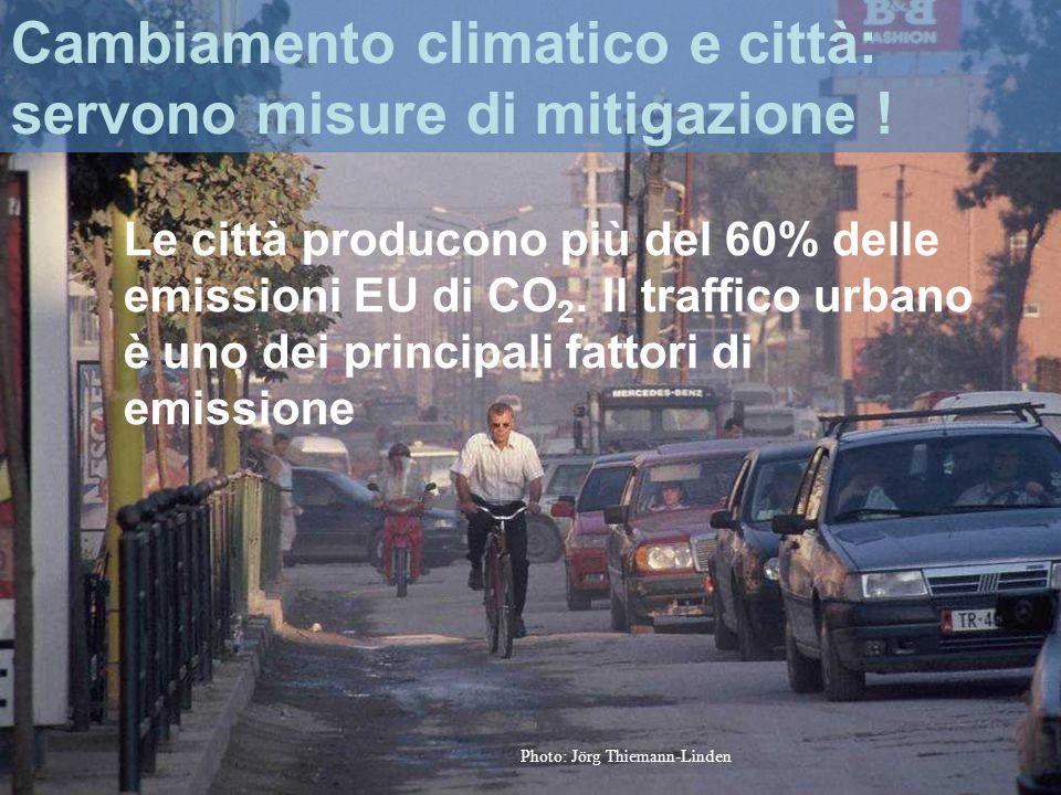 Name/event Cambiamento climatico e città: servono misure di mitigazione .