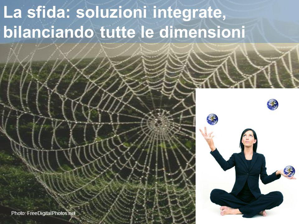 Photo: FreeDigitalPhotos.net La sfida: soluzioni integrate, bilanciando tutte le dimensioni