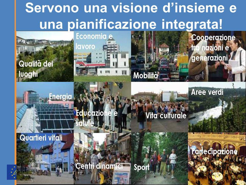 Servono una visione dinsieme e una pianificazione integrata!