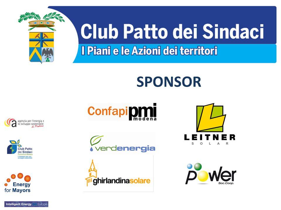 La Provincia di Modena struttura di supporto dei Comuni aderenti al PATTO DEI SINDACI