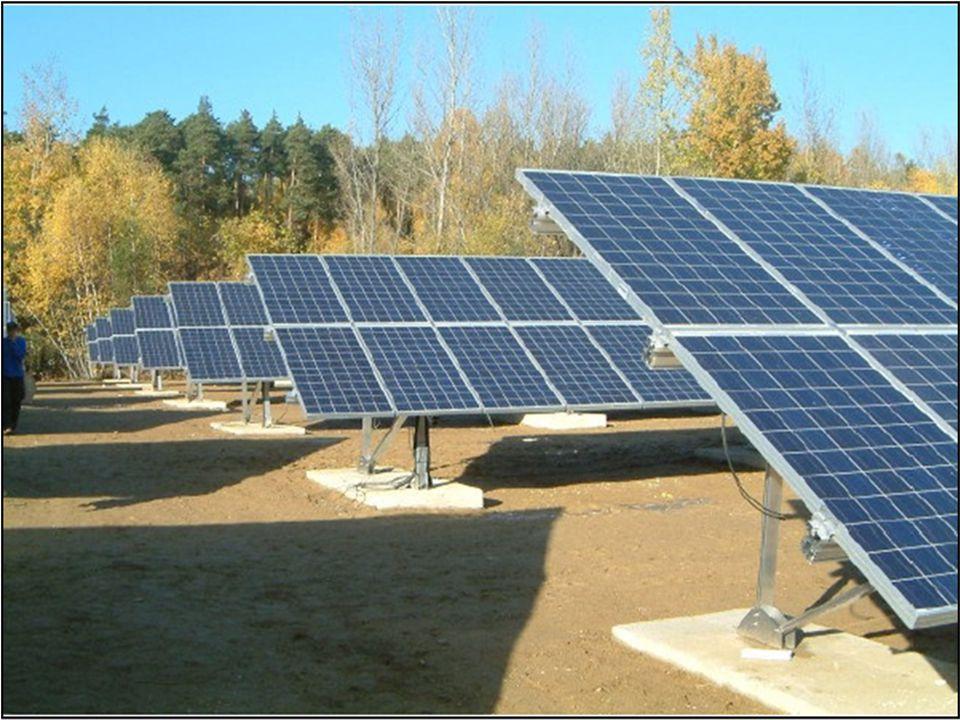 IMPIANTO FOTOVOLTAICO FIERA DI MODENA estensione: 288 mq 35.200 KWh prodotti in un anno - 19 tonnellate di CO2 emessa in un anno Caratteristiche: struttura a pensilina di 130 metri lineari con 192 moduli di pannelli fotovoltaici per un totale 288 mq.