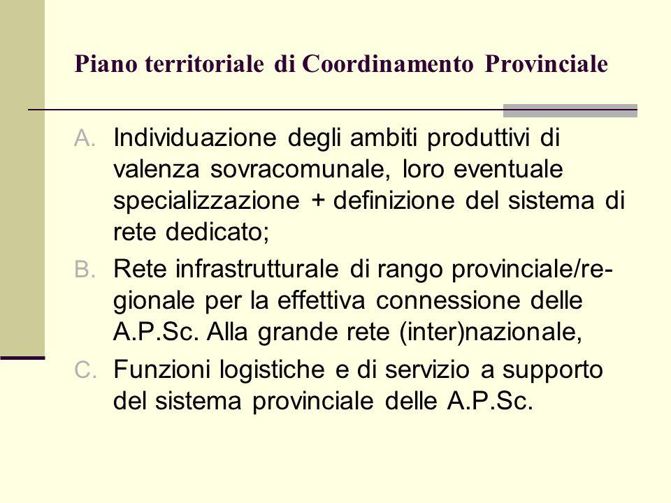 Piano territoriale di Coordinamento Provinciale A.