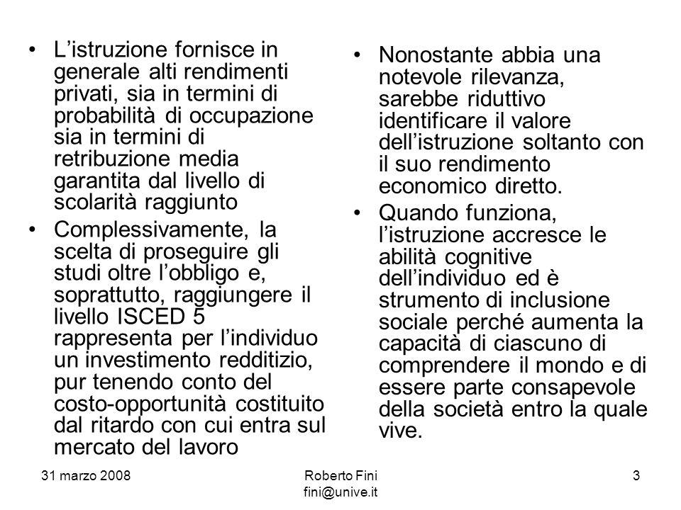 La situazione italiana si discosta negativamente in tutti e tre i campi oggetto di indagine da parte dei ricercatori del PISA rispetto alla gran parte dei paesi campionati.