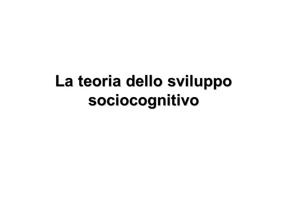 La teoria dello sviluppo sociocognitivo