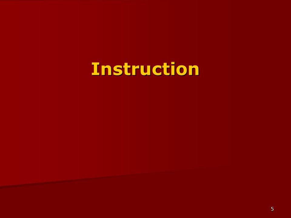 5 Instruction