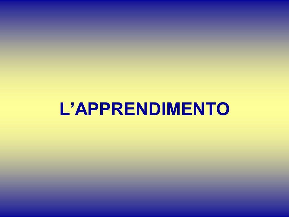 LAPPRENDIMENTO
