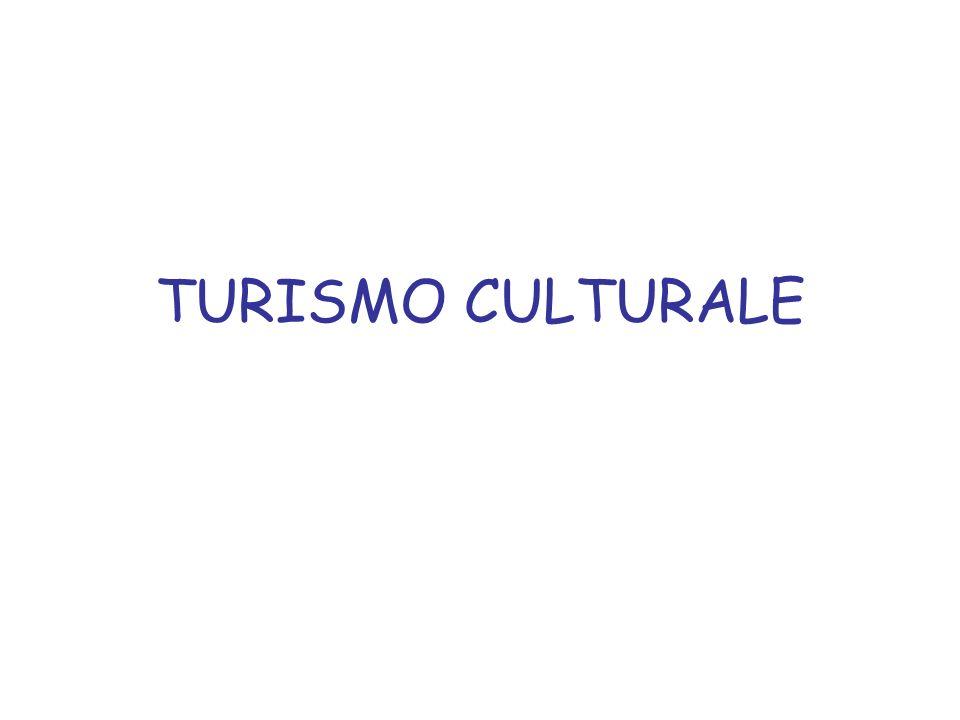 Luoghi comuni 1.identificazione del turismo culturale come turismo délite Riproposizione moderna del Grand Tour CULTURA DOMINANTE 2.identificazione con un turismo povero, giovanile ed assimilabile ai movimenti ambientalisti che assumono una connotazione di contestazione rispetto alla CULTURA DOMINANTE
