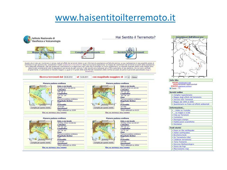 www.haisentitoilterremoto.it