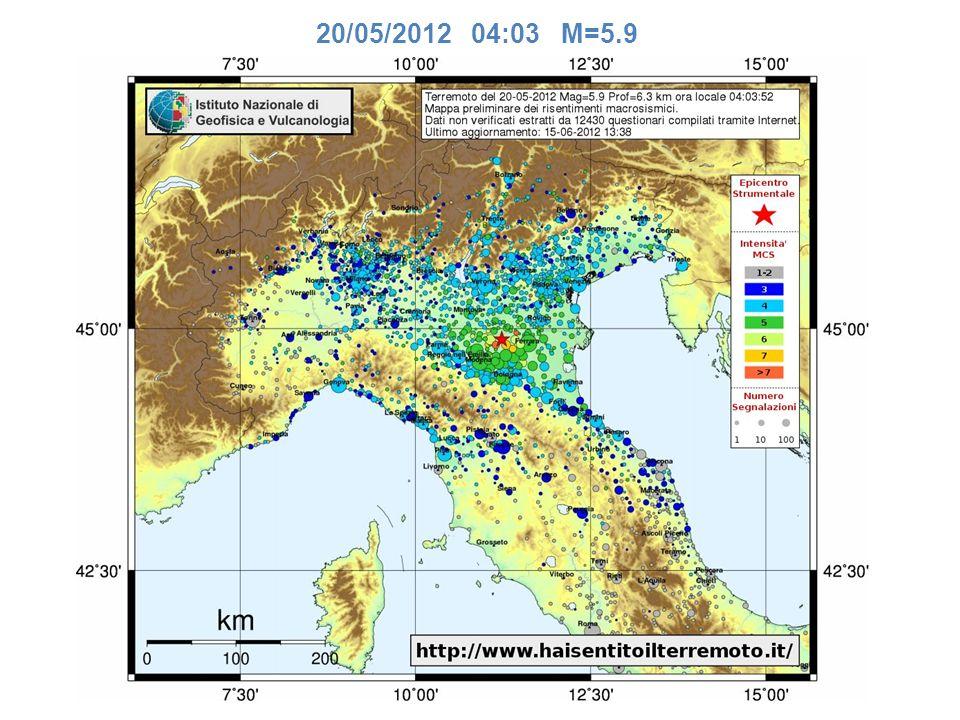 Una realtà italiana, non come Ushahidi ma pioneristica, c é già e l ha messa insieme l Ingv nel lontano 1997 quando ancora le potenzialità di Internet e social network erano inesplorate.