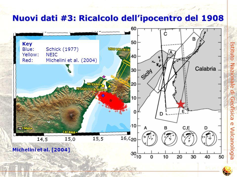 Istituto Nazionale di Geofisica e Vulcanologia Nuovi dati #2: Campo di stress da sismicità Neri et al. [2004]