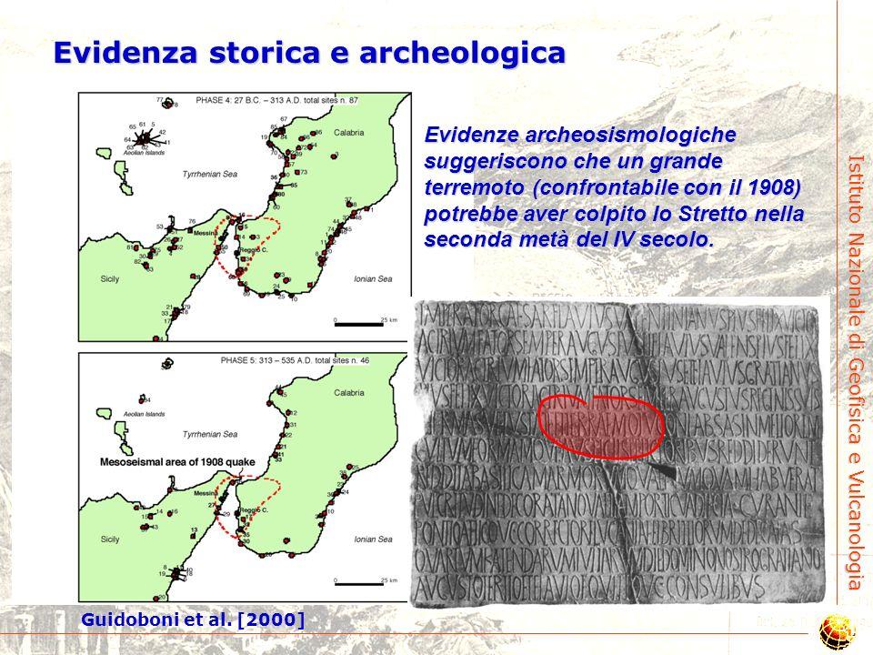 Istituto Nazionale di Geofisica e Vulcanologia Tempo di ricorrenza di terremoti tipo-1908 Sono necessari circa 120 terremoti tipo-1908 per giustificar