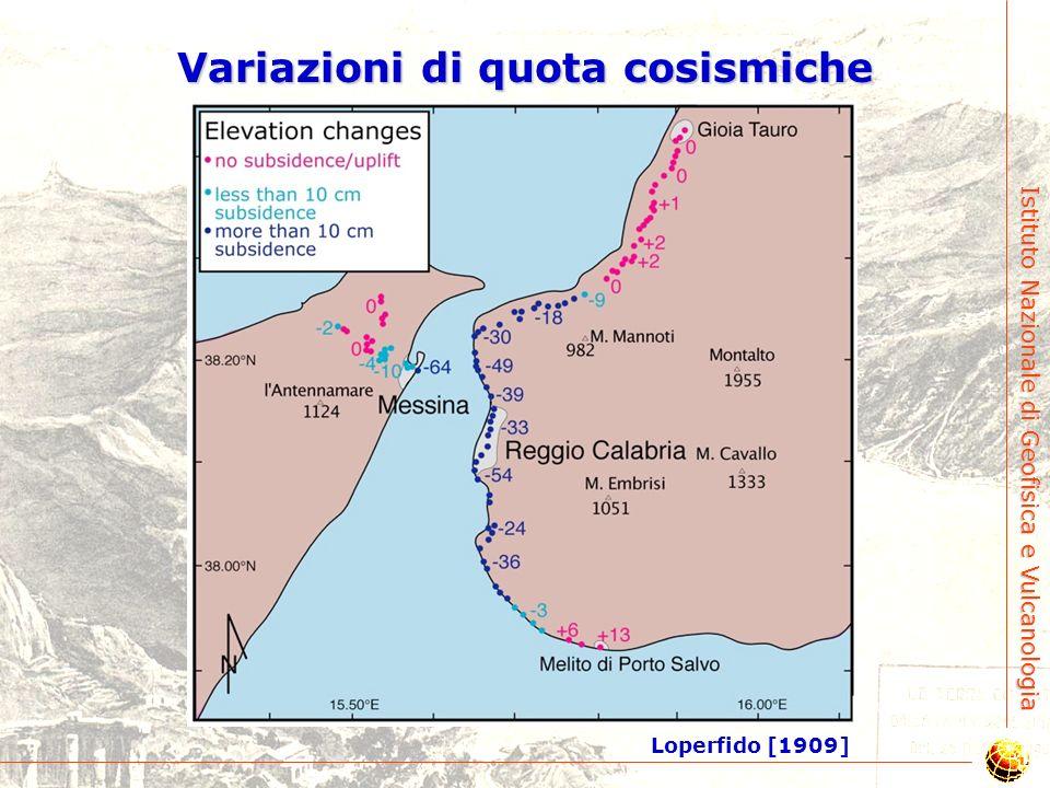 Istituto Nazionale di Geofisica e Vulcanologia Un terremoto ben studiato…