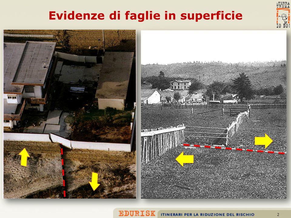 13 Faglia che disloca sedimenti lacustri e alluvionali nella Piana di Sulmona (AQ)