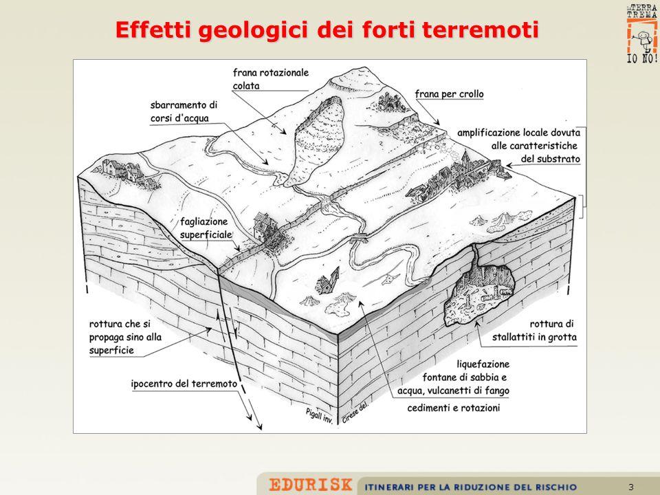4 Fagliazione di superficie lungo la faglia di Paganica