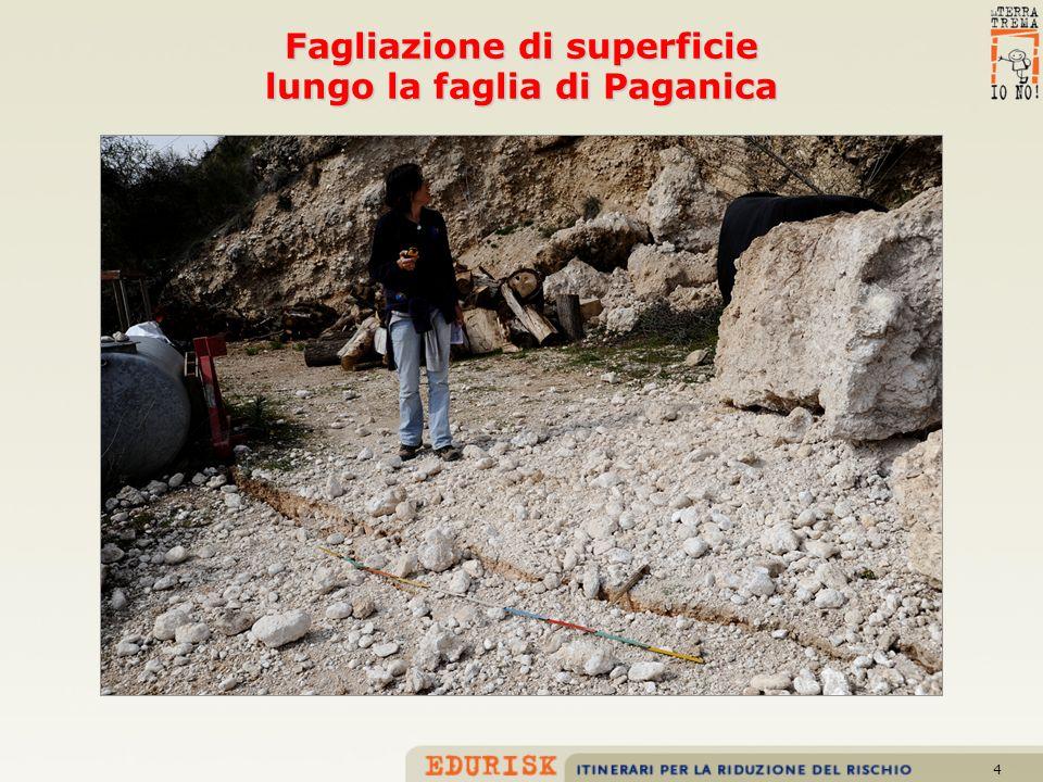5 FAGLIE e terremoti nellAppennino centrale fino a 7 Il terremoto del 6 aprile 2009 ha interessato un settore di catena appenninica per il quale sono note numerose faglie attive potenzialmente in grado di generare terremoti con magnitudo fino a 7.