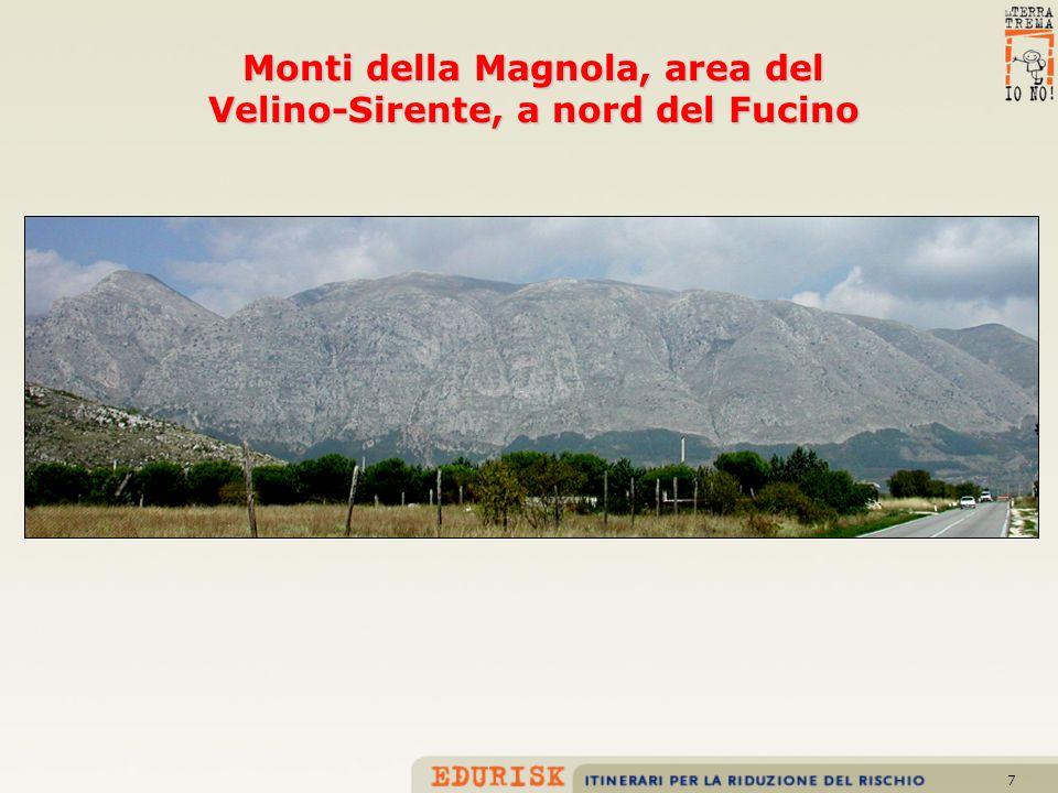 8 Monti della Magnola, area del Velino-Sirente, a nord del Fucino