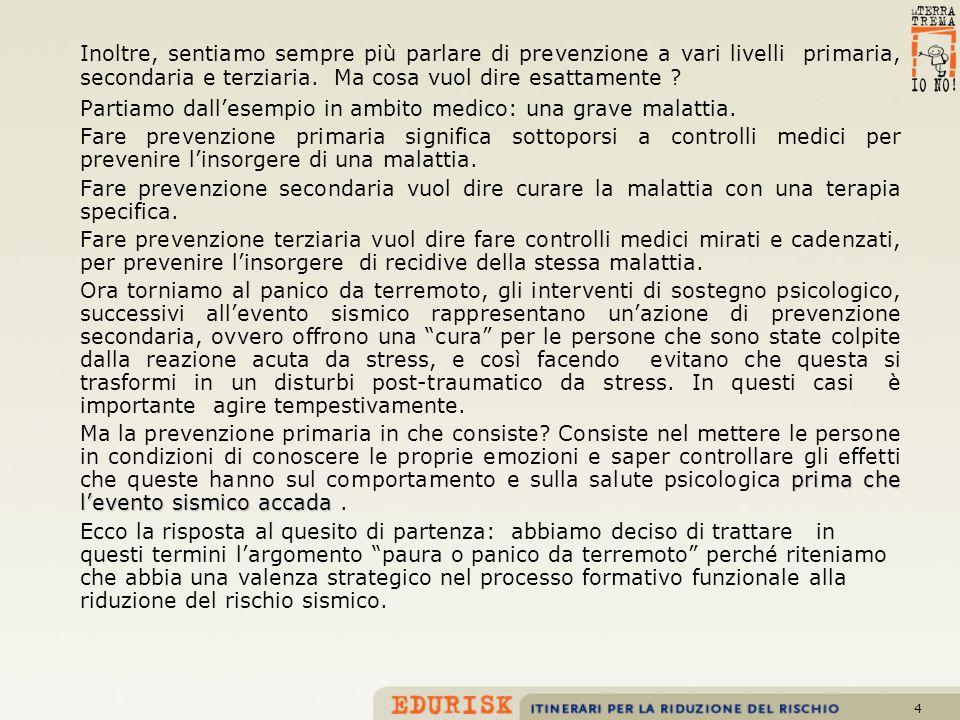 25 Bibliografia di riferimento A.Oliverio Ferraris - Psicologia della paura - Boringhieri 1980 A.