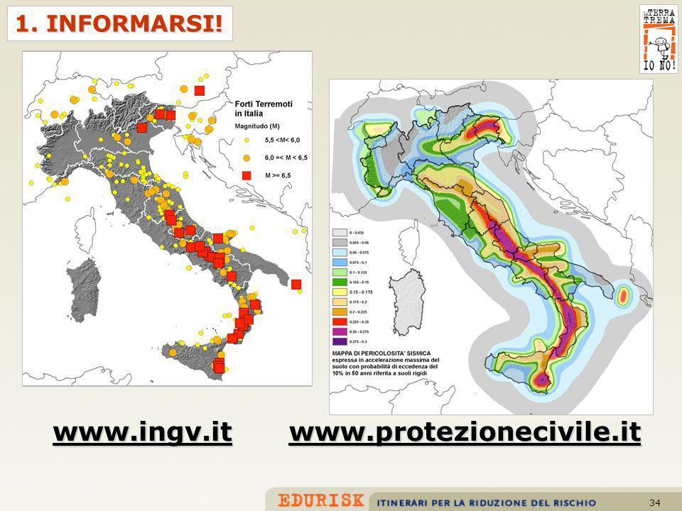 34 1. INFORMARSI! www.ingv.itwww.protezionecivile.it