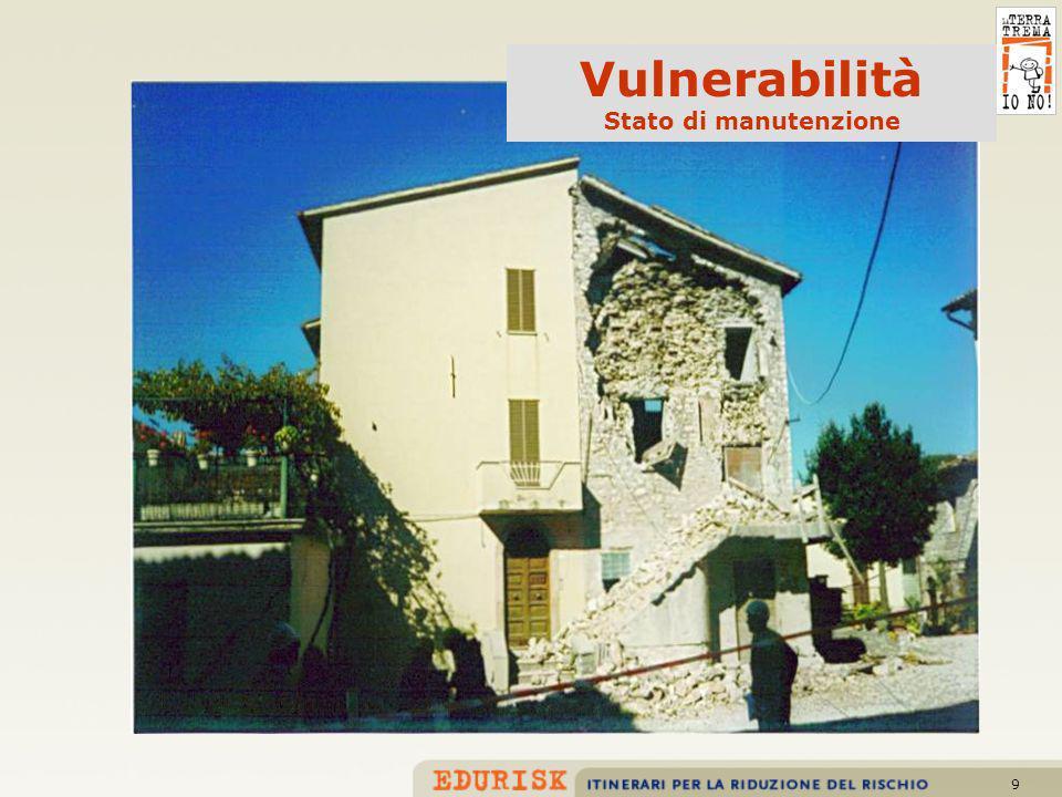9 Vulnerabilità Stato di manutenzione