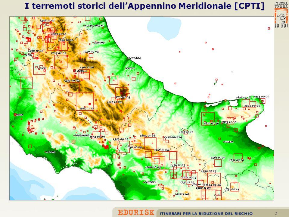5 I terremoti storici dellAppennino Meridionale [CPTI]