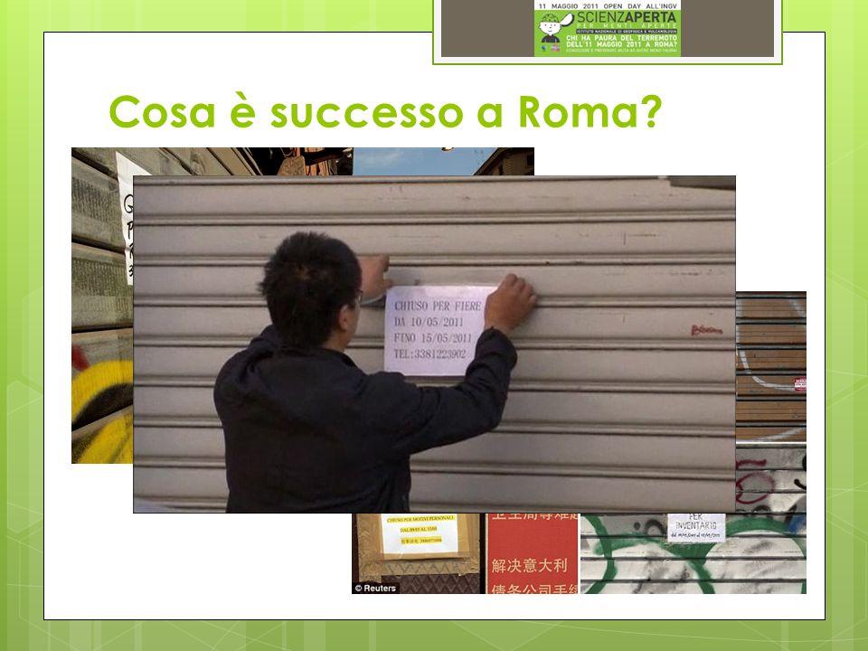 Cosa è successo a Roma
