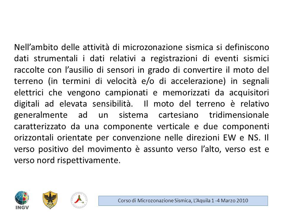 Letture consigliate: P.M.Shearer (1999): Introduction to seismology, cambridge University Press.