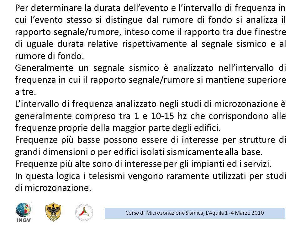 Dati Strong Motion e Weak Motion Corso di Microzonazione Sismica, LAquila 1 -4 Marzo 2010 Per dato Strong Motion si intende la registrazione sismica dellaccelerazione del terreno ottenuta in occasione di eventi che provocano un elevato livello di scuotimento.