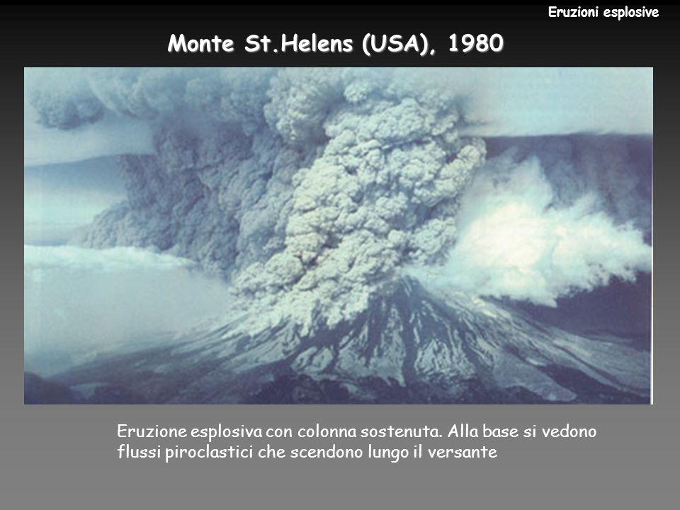 Monte St.Helens (USA), 1980 Eruzioni esplosive Torna indietro
