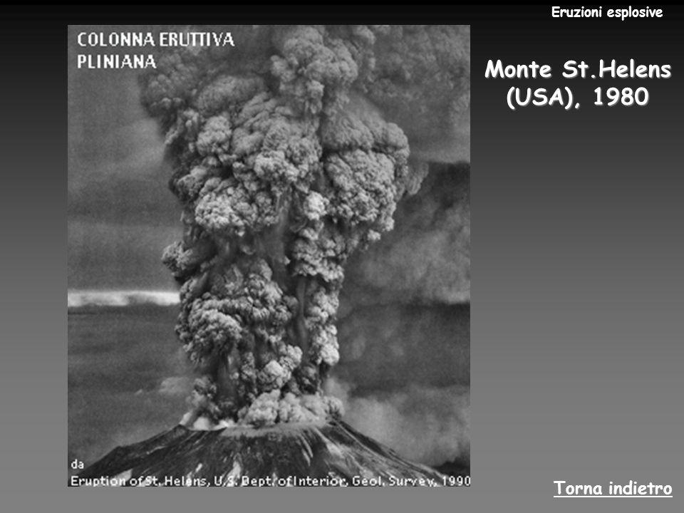 Se il magma è privo, o quasi, di gas, traboccherà tranquillamente della bocca eruttiva sotto forma di colata di lava, e l eruzione sarà di tipo effusivo.