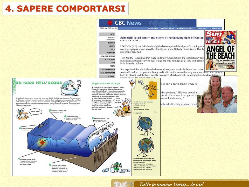 4. SAPERE COMPORTARSI