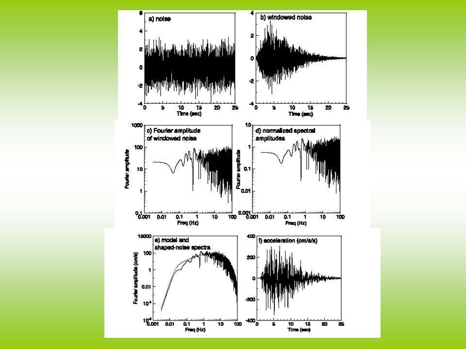 Il modello stocastico puo essere applicato anche su faglie estese e registrazioni in campo vicino.