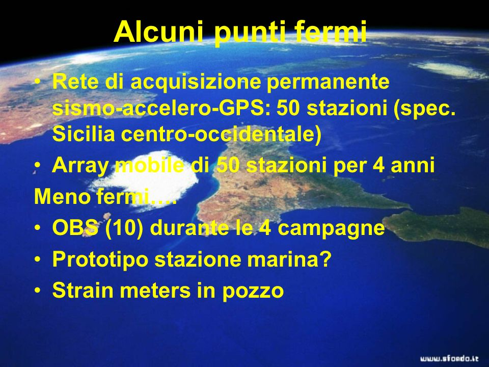 Metodologies Passive seismology seismic sections Prospezioni geofisiche Weels Water analisys