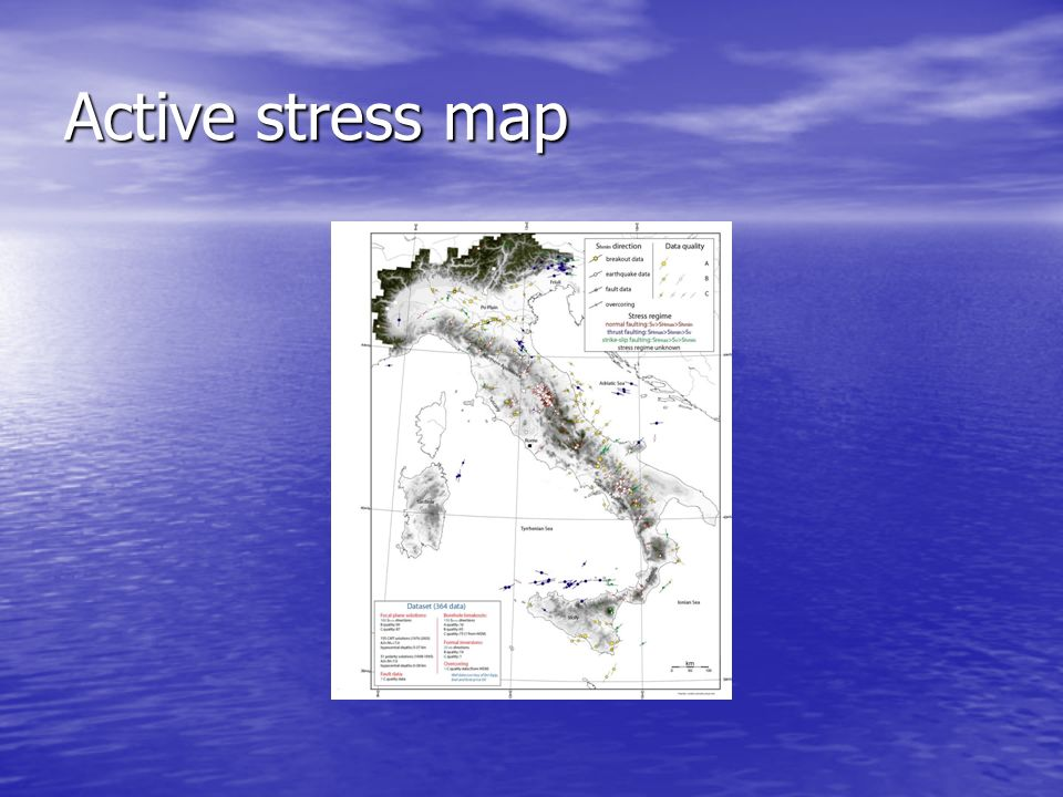 Active stress map