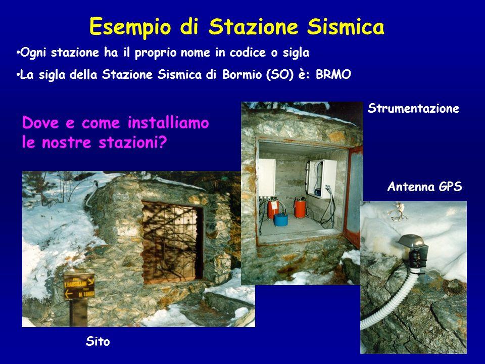 La Rete Sismica Nazionale Centralizzata Attualmente si compone di circa 300 stazioni che inviano i dati a Roma in tempo reale.