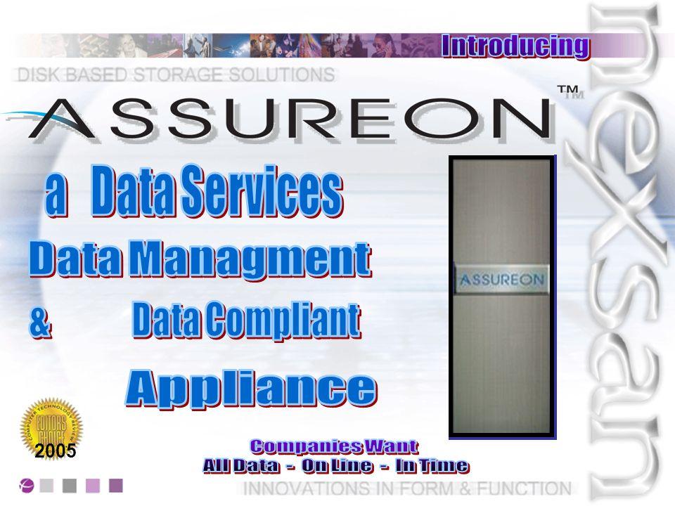 Assureon garantisce un totale e sicuro Nonchè indipendente ambiente di dati Questo fornisce la possibilità ad un remote user di gestire i suoi restore Il tutto mantenedo Audit e notifica sulle attività svolte