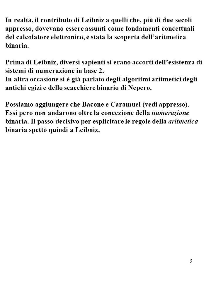 14 Due classiche disposizioni dei 64 simboli esagrammatici (*) (*) Dal saggio di Mario G.