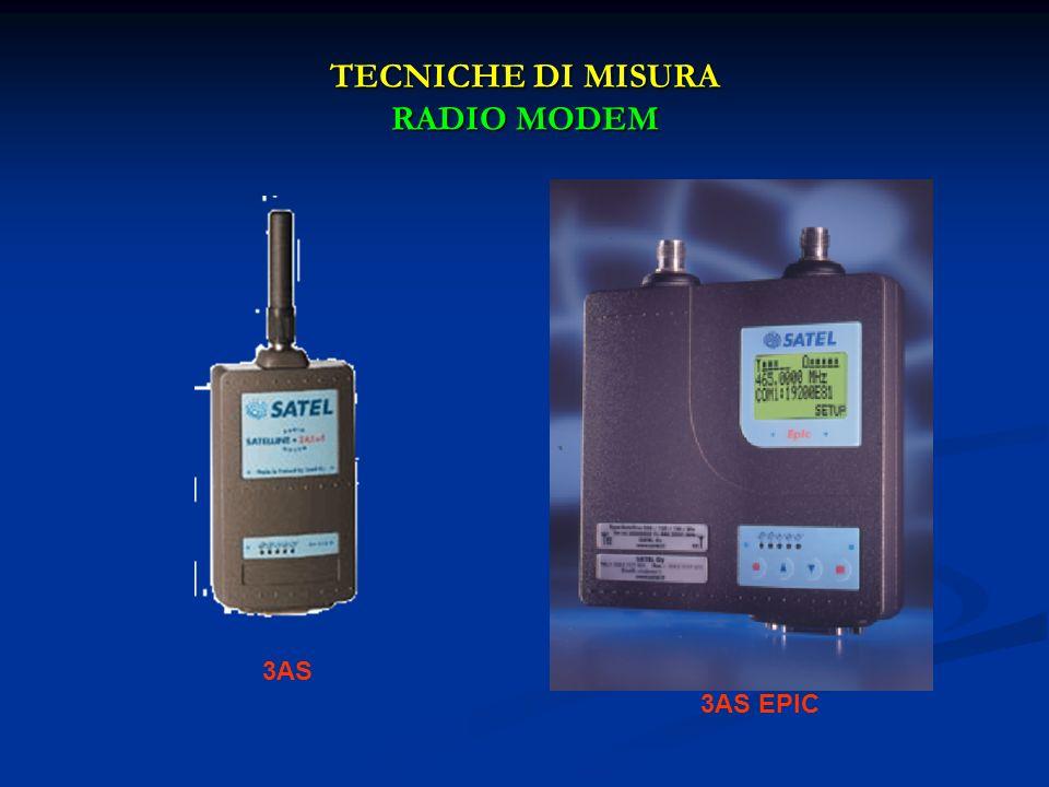 TECNICHE DI MISURA RADIO MODEM 3AS 3AS EPIC