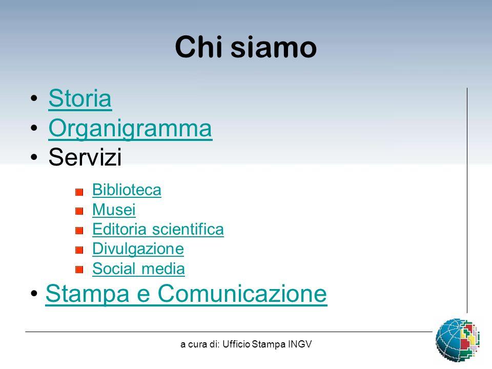 a cura di: Ufficio Stampa INGV Collegio dIstituto - 2