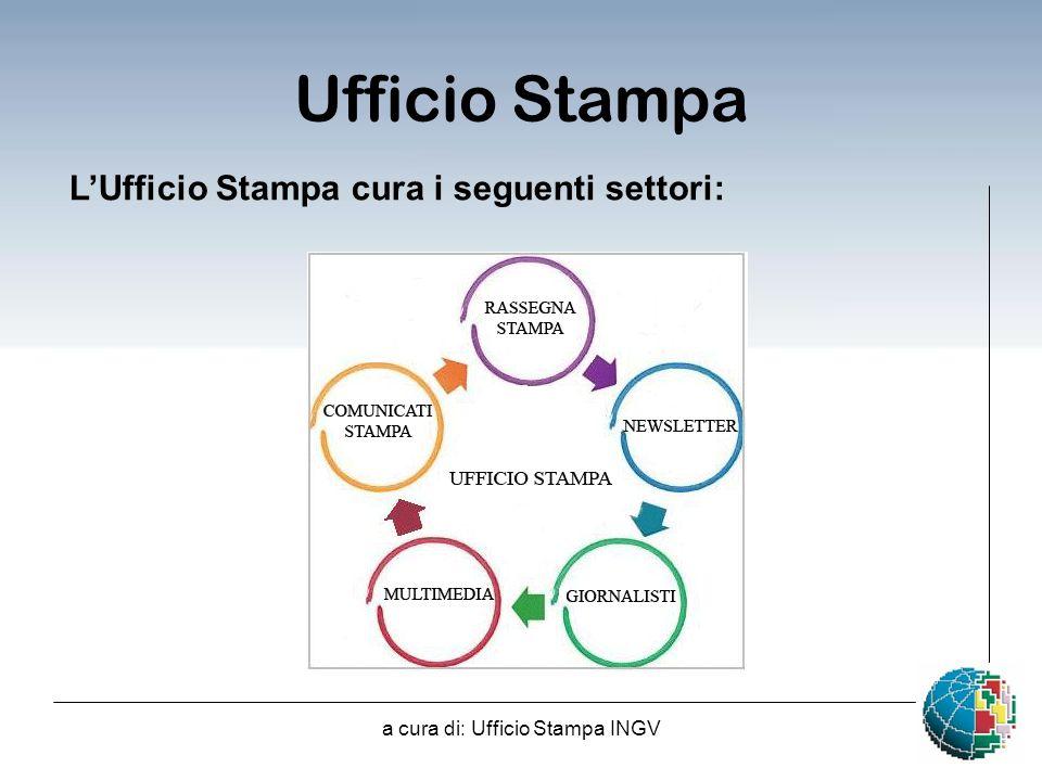 a cura di: Ufficio Stampa INGV LUfficio Stampa cura i seguenti settori: Ufficio Stampa