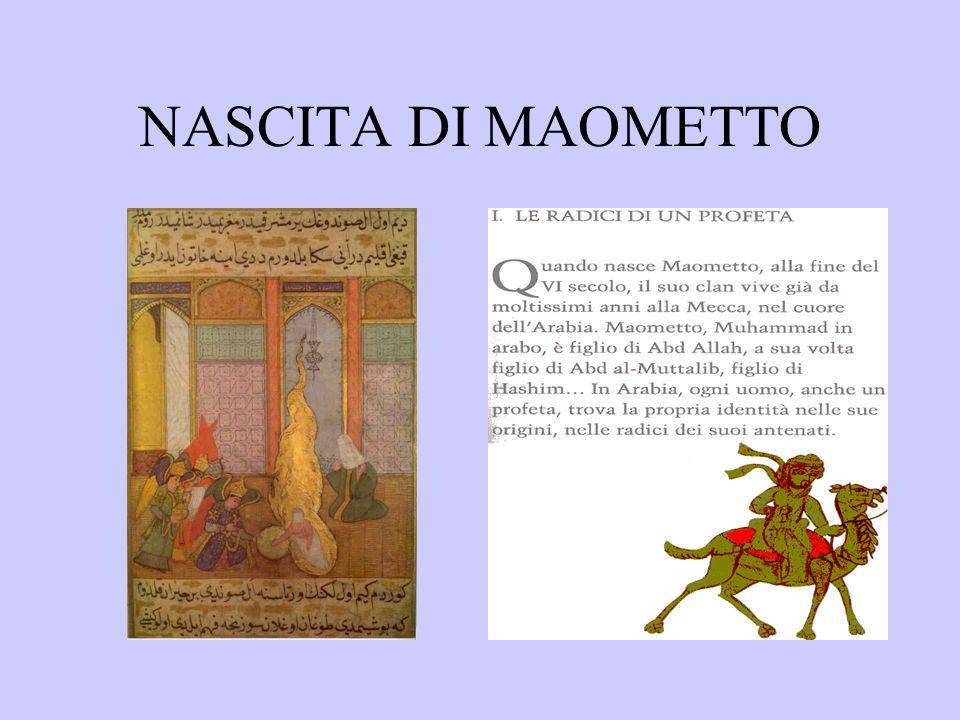 NASCITA DI MAOMETTO