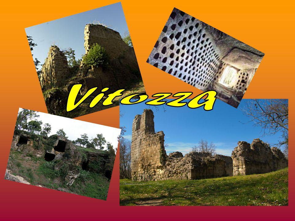 L antica città di Vitozza sorse in epoca medievale, quasi sicuramente alla fine dell XI secolo, attorno al castello edificato dalla famiglia Aldobrandeschi.
