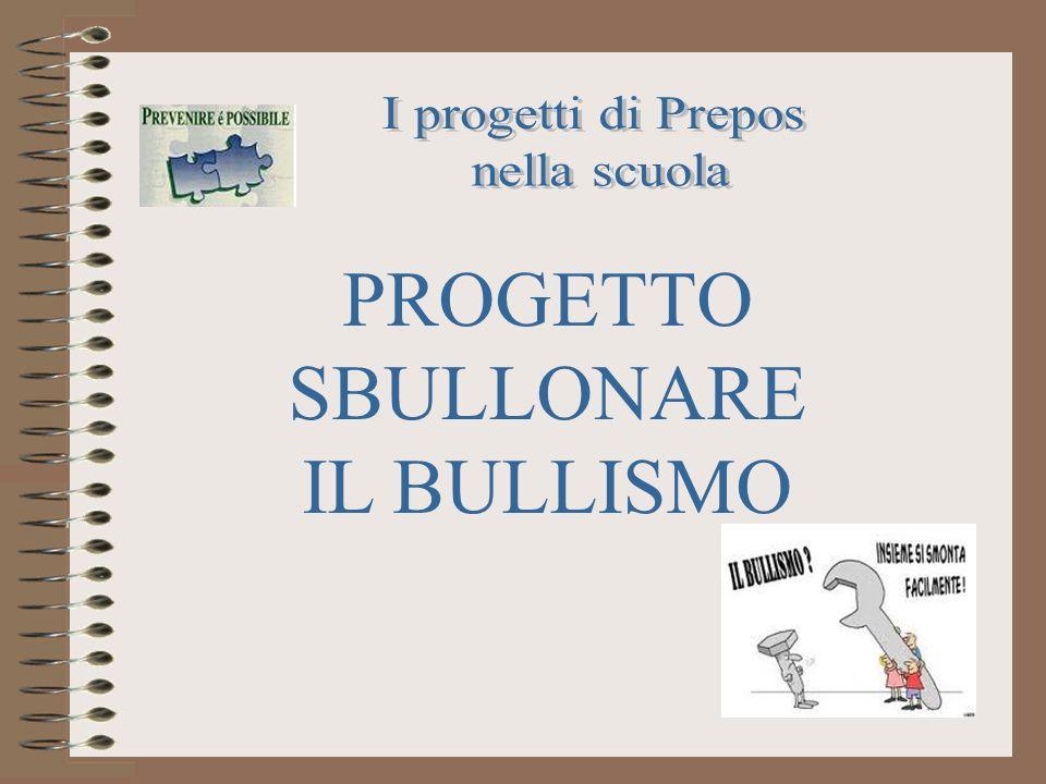 PROGETTO SBULLONARE IL BULLISMO