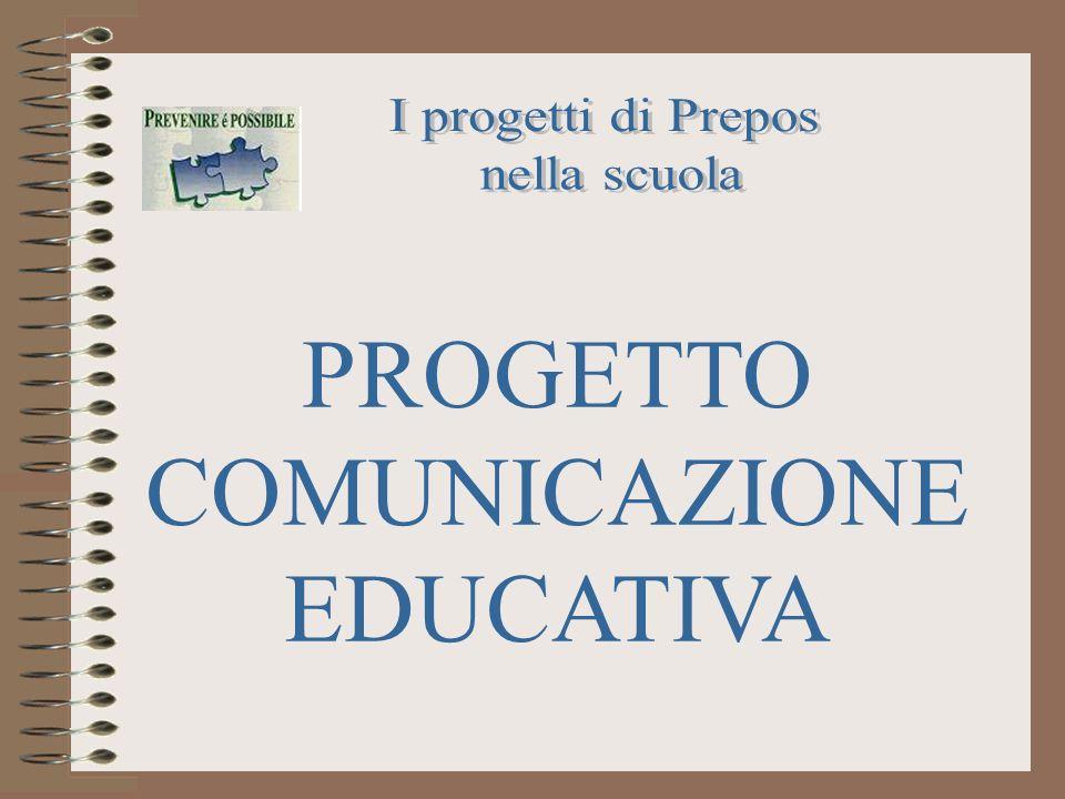 PROGETTO COMUNICAZIONE EDUCATIVA